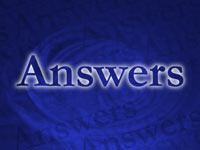answers - powerpoint backgrounds