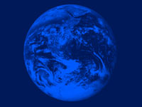 earth planet - powerpoint backgrounds