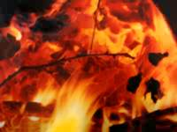 hell fire - christian powerpoint backgrounds
