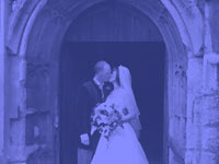 just married - powerpoint backgrounds