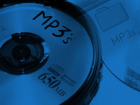 mp3 cd copy - powerpoint backgrounds