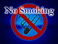 no smoking - powerpoint backgrounds