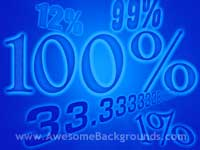 percentages - point to screen - powerpoint backgrounds