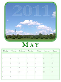 powerpoint calendar May