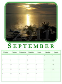 powerpoint calendar September