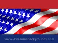 red blue stripes - powerpoint backgrounds