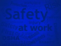 safety keywords - powerpoint backgrounds