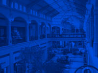 shopping mall - powerpoint backgrounds