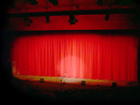 stage curtains - powerpoint backgrounds