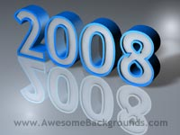 year 2008 - powerpoint backgrounds