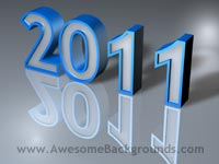 year 2011 - powerpoint backgrounds
