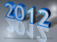 year 2012 - powerpoint backgrounds